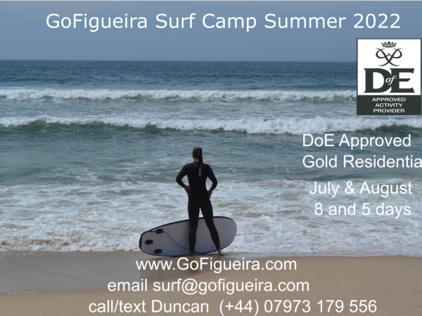 Summer 2022 DofE Surfing