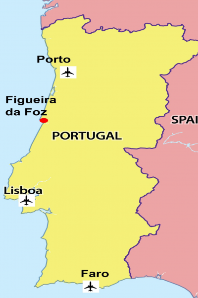 Misc Portugal Map FDF and airports